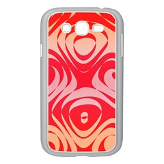 Gradient shapes Samsung Galaxy Grand DUOS I9082 Case (White)