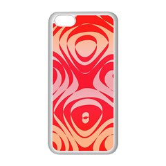 Gradient shapes Apple iPhone 5C Seamless Case (White)