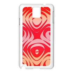 Gradient shapes Samsung Galaxy Note 3 N9005 Case (White)