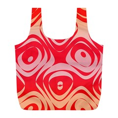 Gradient shapes Full Print Recycle Bag (L)