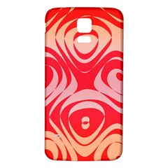 Gradient shapes Samsung Galaxy S5 Back Case (White)
