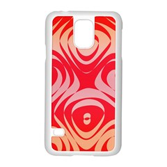 Gradient shapes Samsung Galaxy S5 Case (White)