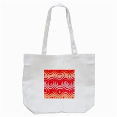 Gradient shapes Tote Bag (White)