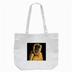 Monkey Bastard Tote Bag (White)
