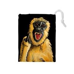 Monkey Bastard Drawstring Pouch (Medium)