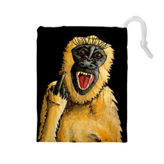 Monkey Bastard Drawstring Pouch (Large)