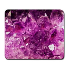 Amethyst Stone Of Healing Large Mouse Pad (rectangle)
