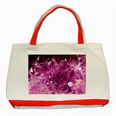 Amethyst Stone Of Healing Classic Tote Bag (Red)