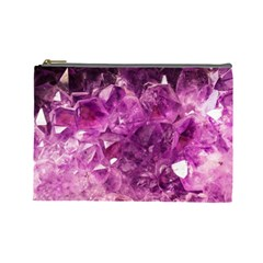 Amethyst Stone Of Healing Cosmetic Bag (large)