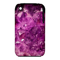 Amethyst Stone Of Healing Apple iPhone 3G/3GS Hardshell Case (PC+Silicone)