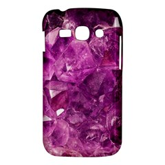 Amethyst Stone Of Healing Samsung Galaxy Ace 3 S7272 Hardshell Case