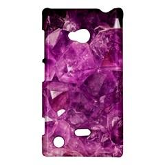 Amethyst Stone Of Healing Nokia Lumia 720 Hardshell Case