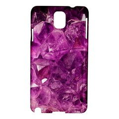 Amethyst Stone Of Healing Samsung Galaxy Note 3 N9005 Hardshell Case