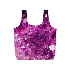 Amethyst Stone Of Healing Reusable Bag (S)