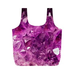 Amethyst Stone Of Healing Reusable Bag (M)