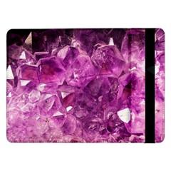 Amethyst Stone Of Healing Samsung Galaxy Tab Pro 12.2  Flip Case