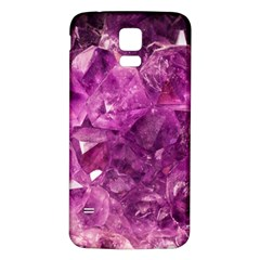 Amethyst Stone Of Healing Samsung Galaxy S5 Back Case (White)