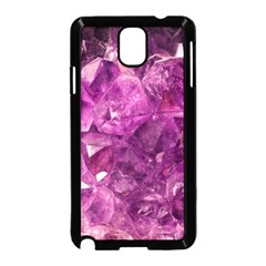 Amethyst Stone Of Healing Samsung Galaxy Note 3 Neo Hardshell Case (black)