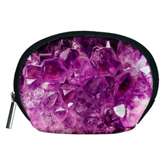 Amethyst Stone Of Healing Accessory Pouch (Medium)