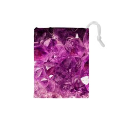 Amethyst Stone Of Healing Drawstring Pouch (Small)