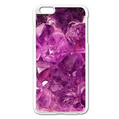 Amethyst Stone Of Healing Apple Iphone 6 Plus Enamel White Case