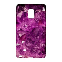 Amethyst Stone Of Healing Samsung Galaxy Note Edge Hardshell Case