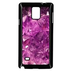 Amethyst Stone Of Healing Samsung Galaxy Note 4 Case (Black)