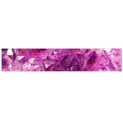 Amethyst Stone Of Healing Flano Scarf (Large)