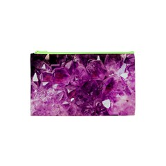 Amethyst Stone Of Healing Cosmetic Bag (XS)