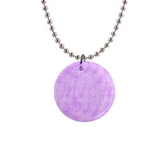 Hidden Pain In Purple Button Necklace