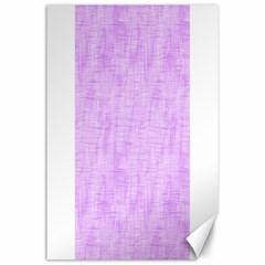 Hidden Pain In Purple Canvas 24  X 36  (unframed)