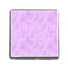 Hidden Pain In Purple Memory Card Reader With Storage (square)