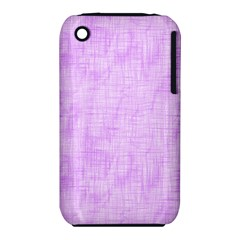 Hidden Pain In Purple Apple iPhone 3G/3GS Hardshell Case (PC+Silicone)