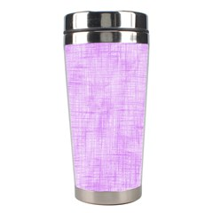 Hidden Pain In Purple Stainless Steel Travel Tumbler