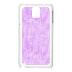 Hidden Pain In Purple Samsung Galaxy Note 3 N9005 Case (White)