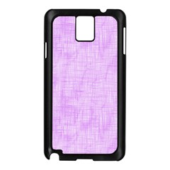 Hidden Pain In Purple Samsung Galaxy Note 3 N9005 Case (black)