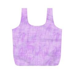 Hidden Pain In Purple Reusable Bag (m)