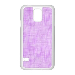 Hidden Pain In Purple Samsung Galaxy S5 Case (White)