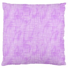 Hidden Pain In Purple Standard Flano Cushion Case (Two Sides)
