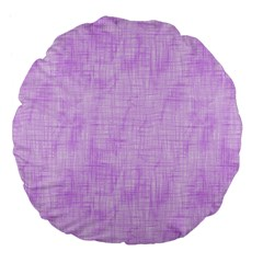 Hidden Pain In Purple 18  Premium Flano Round Cushion