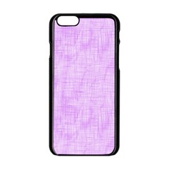 Hidden Pain In Purple Apple iPhone 6 Black Enamel Case