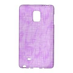 Hidden Pain In Purple Samsung Galaxy Note Edge Hardshell Case