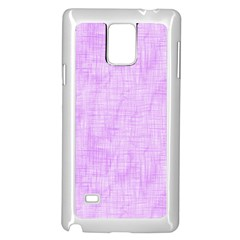 Hidden Pain In Purple Samsung Galaxy Note 4 Case (White)
