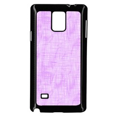 Hidden Pain In Purple Samsung Galaxy Note 4 Case (Black)