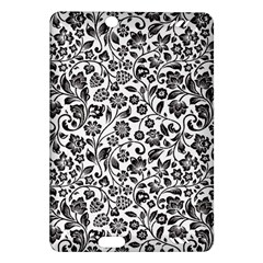 Elegant Glittery Floral Kindle Fire HD (2013) Hardshell Case