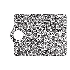 Elegant Glittery Floral Kindle Fire Hd (2013) Flip 360 Case