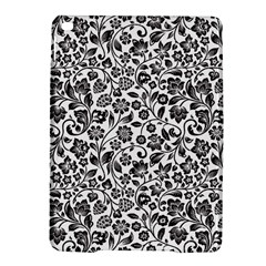 Elegant Glittery Floral Apple iPad Air 2 Hardshell Case