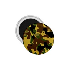 Camo Pattern  1 75  Button Magnet