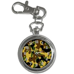 Camo Pattern  Key Chain Watch