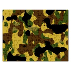 Camo Pattern  Jigsaw Puzzle (rectangle)
